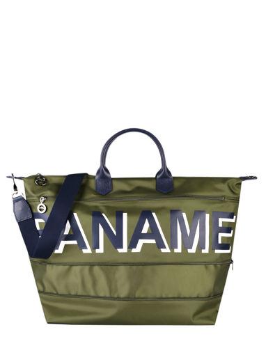 Longchamp Paname Travel bag Green