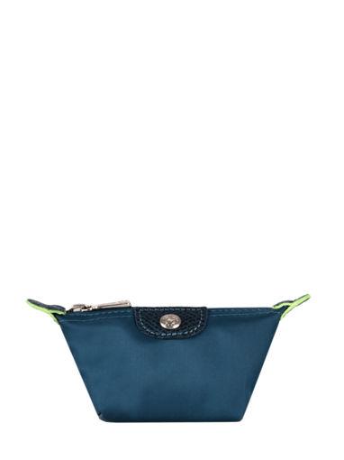 Longchamp Le pliage green Porte-monnaie Bleu