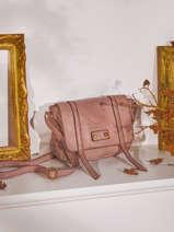 Small Leather Dewashed Crossbody Bag Milano Pink dewashed DE20122