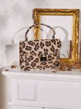 Top Handle Velvet Suede Milano Multicolor velvet VE21061