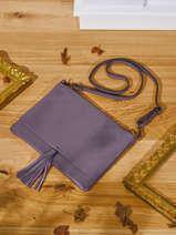 Shoulder Bag Caviar Leather Milano Violet caviar CA21062