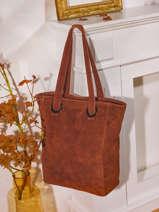 Shopper Velvet Suede Milano Red velvet VE21062