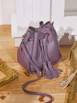 Crossbody Bag Caviar Leather Milano Violet caviar CA21061