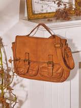 Crossbody Bag Dewashed Leather Milano Red dewashed DE21063
