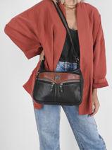 Crossbody Bag Basic Miniprix Brown basic BH168-vue-porte