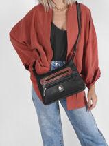 Crossbody Bag Basic Miniprix Brown basic BH202-vue-porte