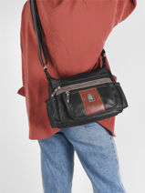 Crossbody Bag Basic Miniprix Brown basic BH8001-vue-porte