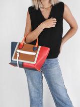 Longchamp Mailbox Sacs porté main Rouge-vue-porte