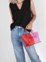 Longchamp Mailbox stabilo Handbag-vue-porte