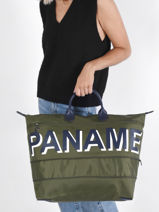 Longchamp Paname Travel bag Green-vue-porte