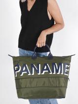 Longchamp Paname Sacs de voyage Vert-vue-porte