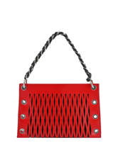 Mini-bag Baltard Leather Sonia rykiel Red baltard 9290-84