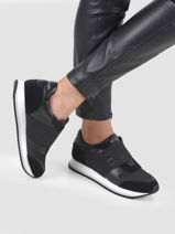 Elastic runner sneakers-CALVIN KLEIN JEANS-vue-porte