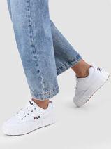 Sneakers in leather-FILA-vue-porte