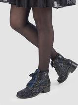 Boots in leather-LAURA VITA-vue-porte