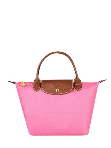 Longchamp Le pliage Sacs porté main Rose