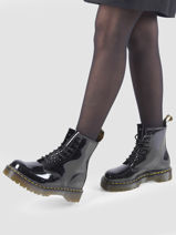 Boots 1460 bex in leather-DR MARTENS-vue-porte