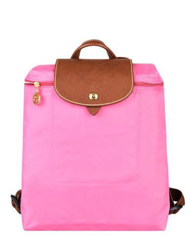 Longchamp Le pliage Backpack Pink