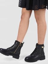 Boots stark in leather-MICHAEL KORS-vue-porte