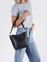 Leather Witley Crossbody Bag Lauren ralph lauren Black witley 31795008-vue-porte