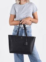 Sac Shopping Clare Lauren ralph lauren Noir clare 31842430-vue-porte