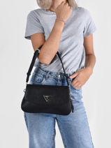 Shoulder Bag Cordella Guess Black cordella VG813019-vue-porte
