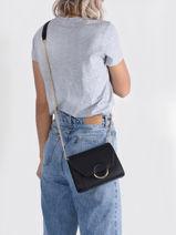 Crossbody Bag Sable Miniprix Black sable HY5409-vue-porte