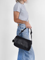 Olly Crossbody Bag Lulu castagnette Black lacet OLLY-vue-porte