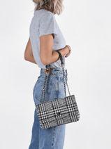 Crossbody Bag Cessily Wool Guess Black cessily TB767921-vue-porte