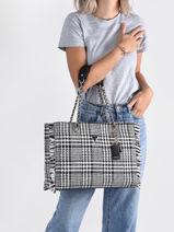 Shoulder Bag A4 Cessily Wool Guess Black cessily TB767923-vue-porte