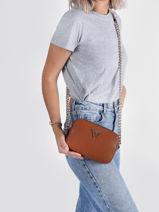 Shoulder Bag Noelle Guess Brown noelle ZG787914-vue-porte