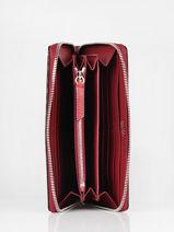 Leather Wallet Premier Flirt Lancel Red premier flirt A10111-vue-porte