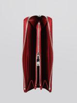 Portefeuille Chantaco Cuir Lacoste Rouge chantaco NF3580KL-vue-porte