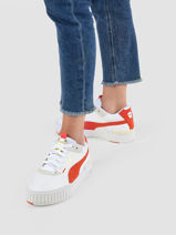 Sneakers cali sport mix-PUMA-vue-porte