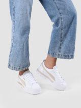 Sneakers mayze en cuir-PUMA-vue-porte