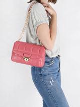 Shoulder Bag Soho Leather Michael kors Pink soho S1G1SL3L-vue-porte