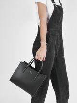 Top Handle Chantaco Leather Lacoste Black chantaco NF3563KL-vue-porte