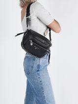 Crossbody Bag Slater Leather Michael kors Black slater T0S04M6L-vue-porte