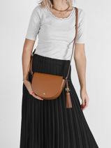 Crossbody Bag Witley Lauren ralph lauren Brown witley 31795004-vue-porte