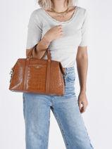 Leather Beck Croco Top-handle Bag Michael kors beck F1GKNSE2-vue-porte