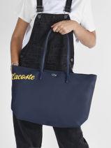 Shoulder Bag L12.12 Season Lacoste l12.12 season NF3622SJ-vue-porte