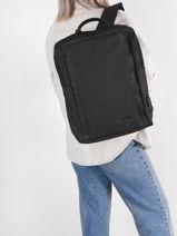 Backpack David jones Black street PC039-vue-porte