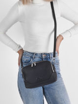 Leather Charlotte Crossbody Bag Nathan baume Black event 2-vue-porte