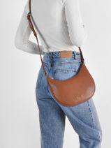 Leather Dallas Crossbody Bag Nathan baume Brown n city 43-vue-porte