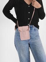 Crossbody Bag Phonebag Miniprix Pink phonebag 1060-vue-porte