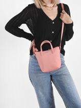Crossbody Bag L.12.12 Concept Lacoste Pink l.12.12 concept NF2609PO-vue-porte