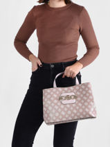Sac Porté Main Hensely Guess Rose hensely PG837807-vue-porte