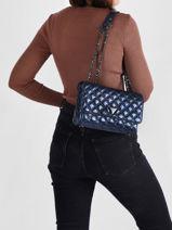 Crossbody Bag Bling Guess Blue bling KM767921-vue-porte