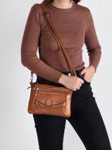 Agnes Crossbody Bag Miniprix Brown agnes MD9074-vue-porte