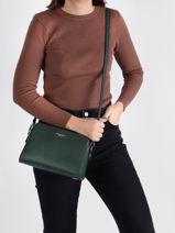 Shoulder Bag Grained Miniprix Green grained F8037-vue-porte